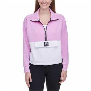 DKNY Ladies' 1/2 Zip Pullover Sweater